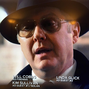 Title Credit in The Blacklist