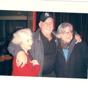 Lynn Cohen, hubby Len Francavilla, Ron Cohen
