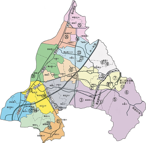 枚方市 地図