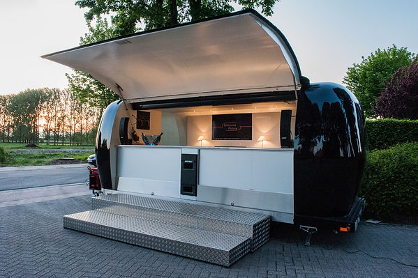 De airstream trailer van Ambiance mobile