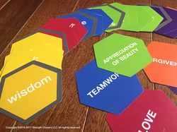 StrengthClusters Mat_Hex Cards_VIA_Practitioner