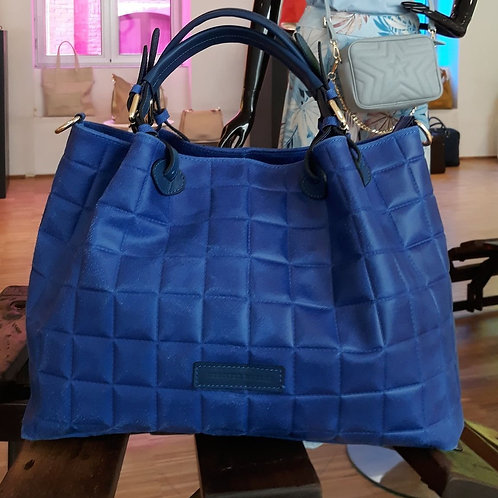 Mondieux Madame Clara Chanel Mini Bright Blue