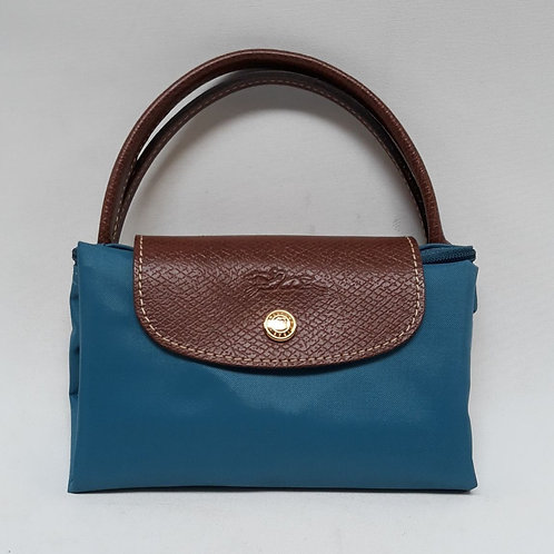 Longchamp Shopping Le Pliage S Petrol Blue
