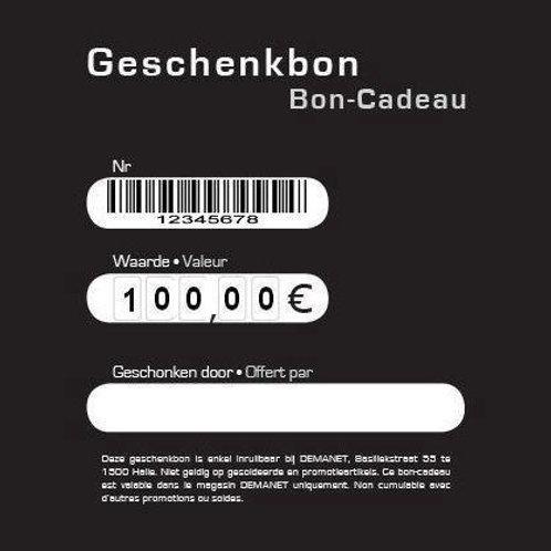 Geschenkbon 100€