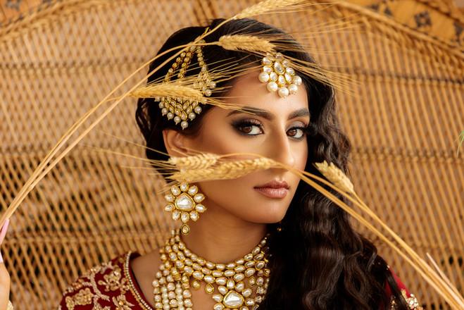 Indian Bride, South Asian Wedding, Getting ready