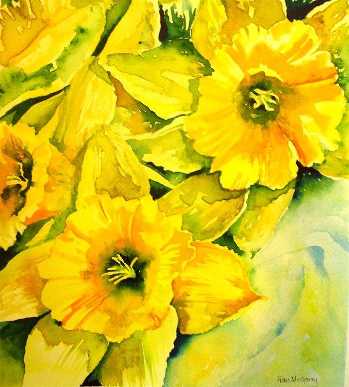 Daffodils £275 (Sold)
