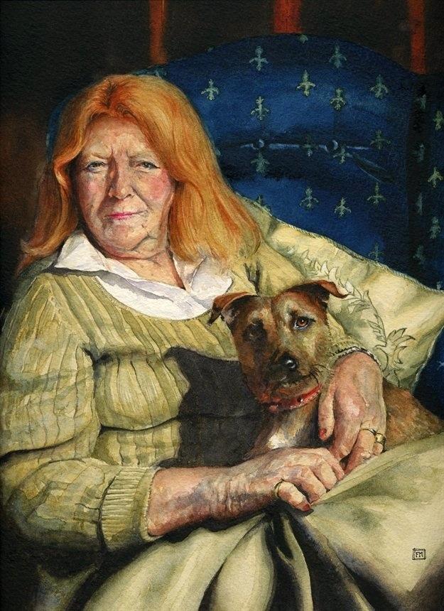 Mrs Mignonnie Oxenham & Houdini £350