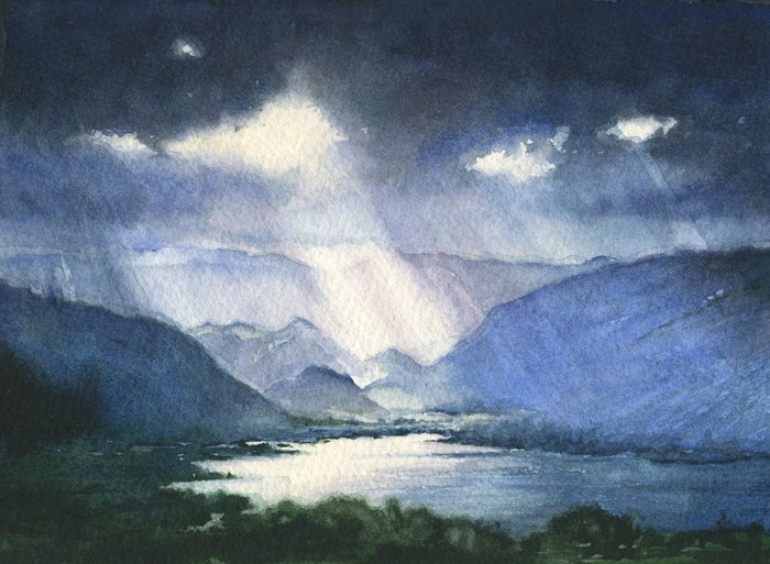 The Lakes £375 (Sold)