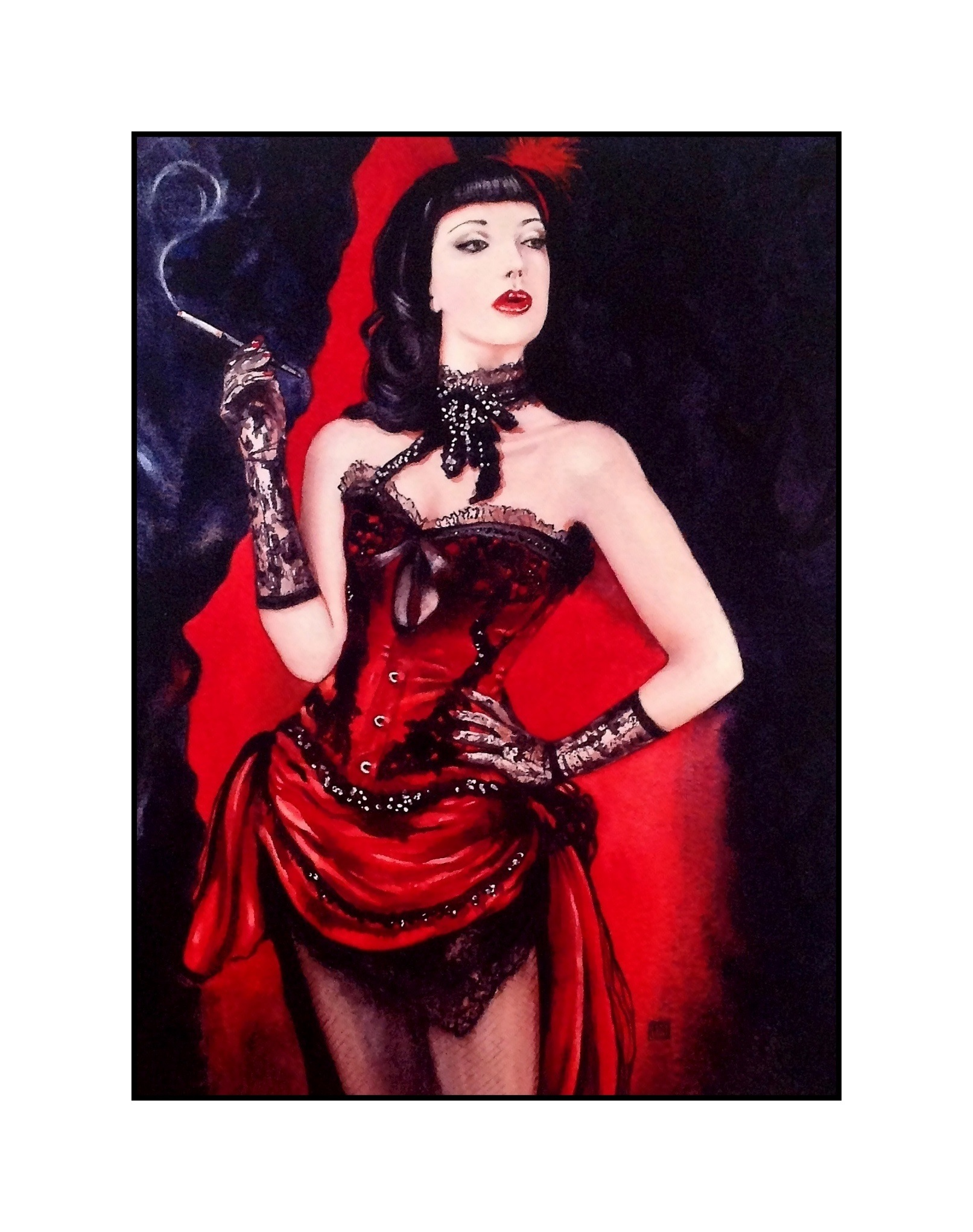 Burlesque £500 (Sold)