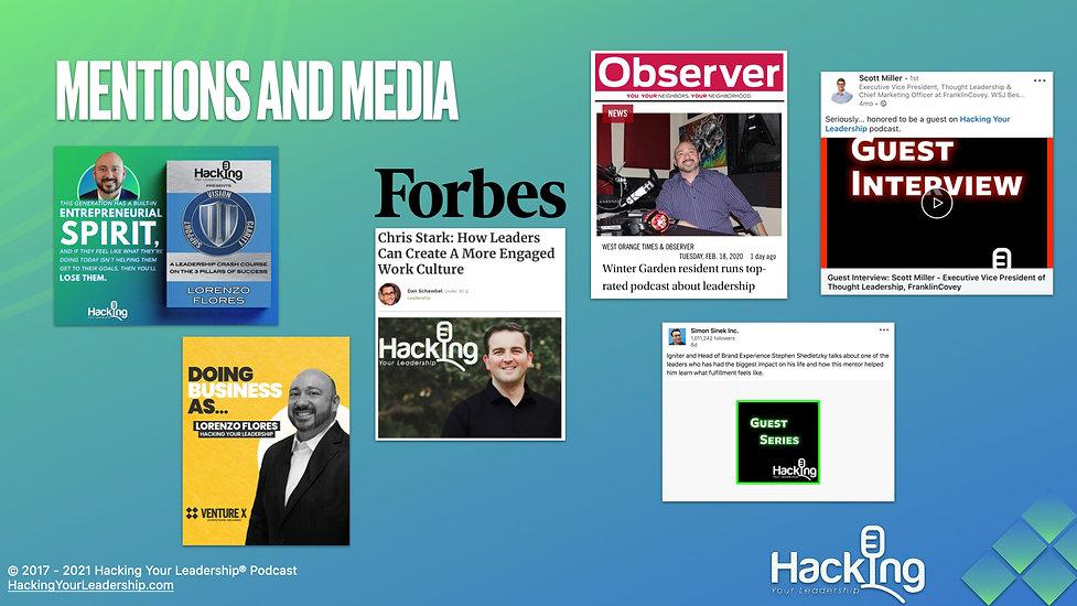 Media Kit - Hacking Your Leadership Podc