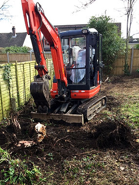 excavator services dorset