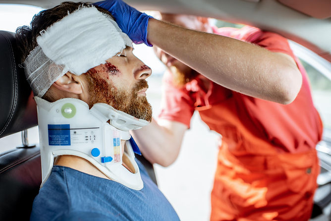 bigstock-Medic-Applying-Bandage-On-The--