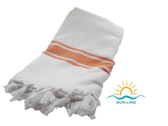 Peshtemal Towel Orange Stripes