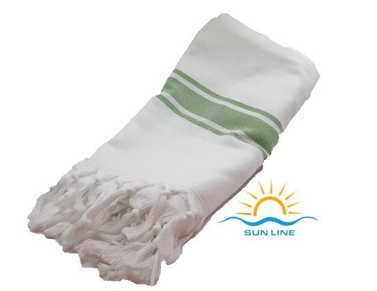 Peshtemal TowelGreen Stripe