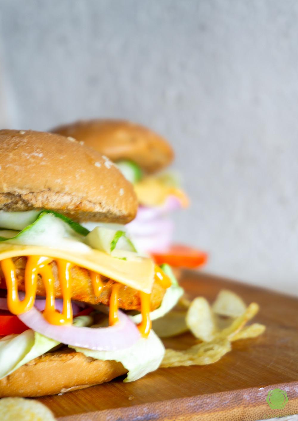 Hashbrown Burger