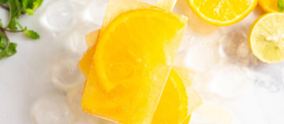 Citrus Popsicles