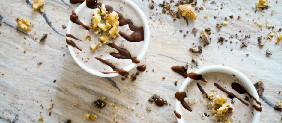Icecream walnut Chococups