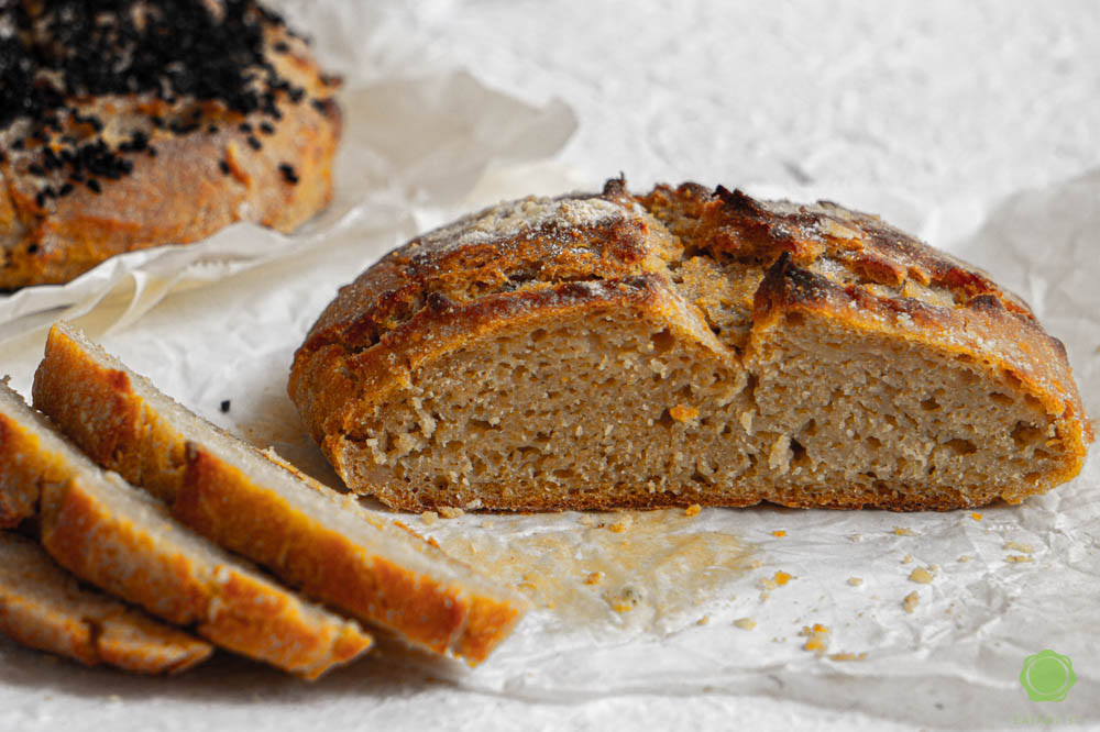 No knead artisan boule