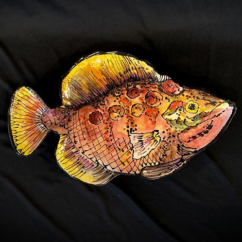 Pinkish Fish Plate
