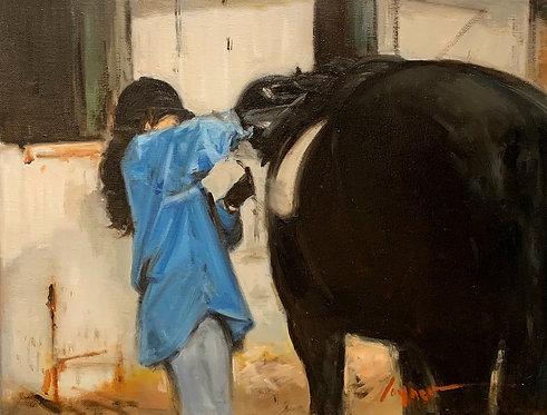Adjusting the Saddle