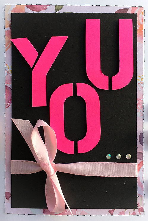YOU Handmade Card