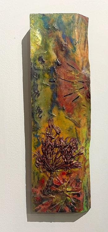 Encaustic Vase (Wall Hanging)
