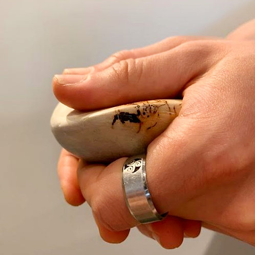Worry Stone Handling