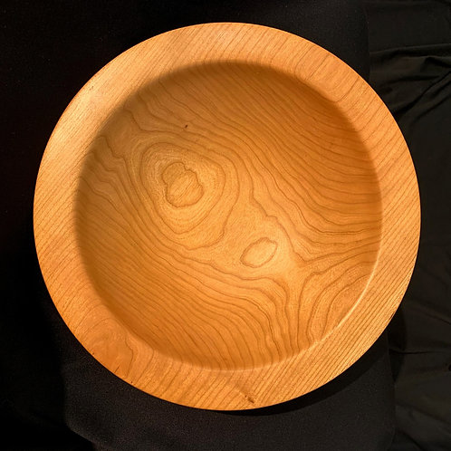 "12"" Cherry Wood Bowl"