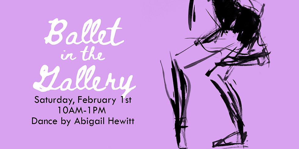 Ballet in the Gallery