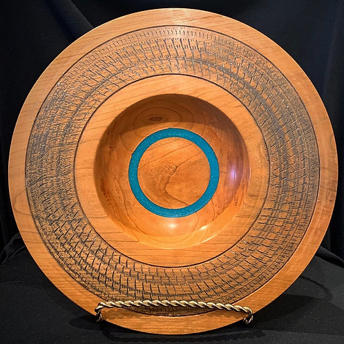 Turquoise Inlay Plate