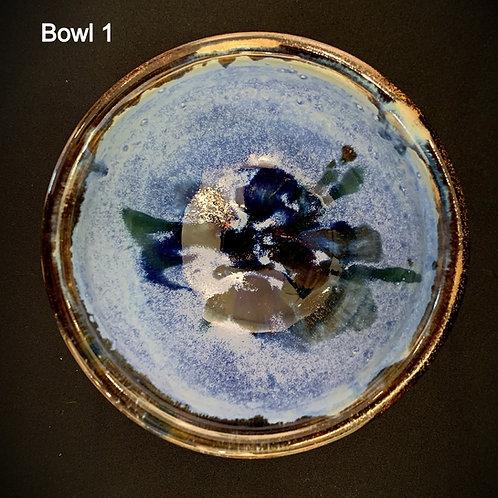 Blue Soup Bowls