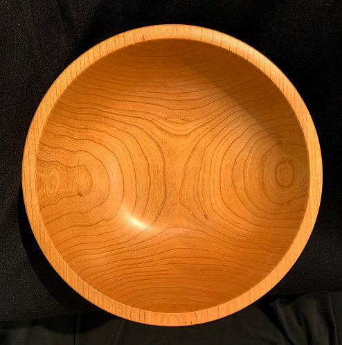"9"" Cherry Wood Bowl"