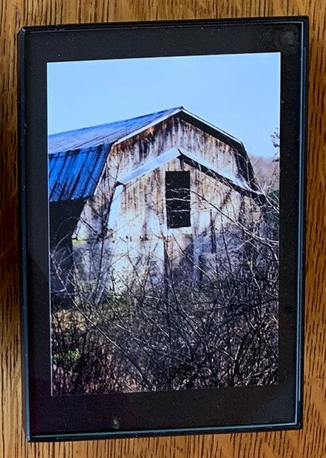 Old Barn Small Framed Photo