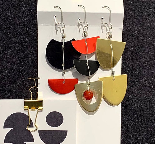 Untitled Gold Earrings