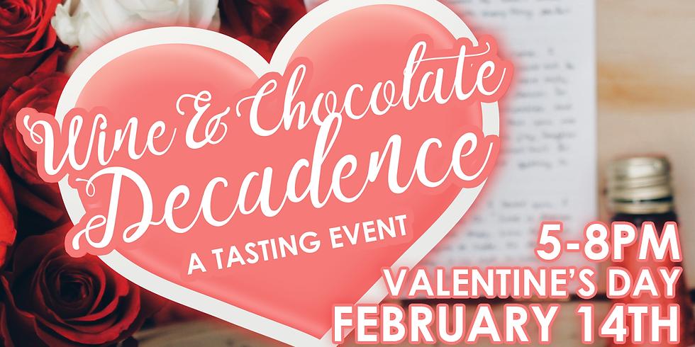 Wine & Chocolate Decadence: A Tasting Event