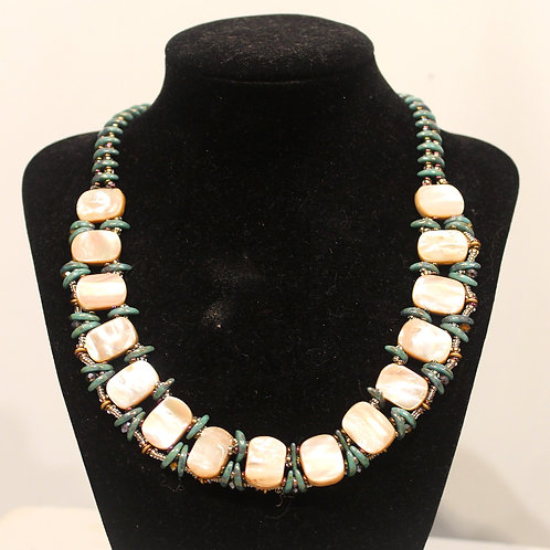 Crescent Shell Necklace