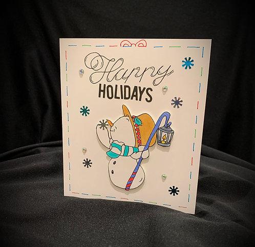 Snowman Handmade Card