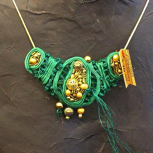 Green Queen Necklace