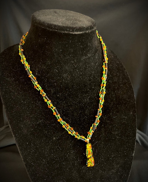Lime Glass Pendant