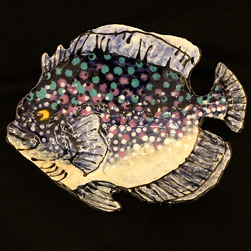 White Purple Fish