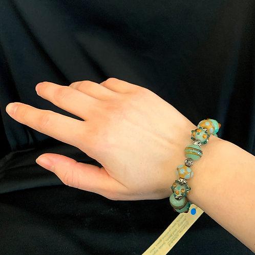 Petite Aqua Bracelet