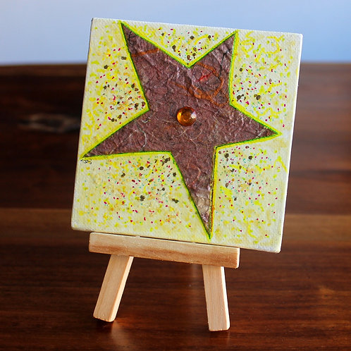Gold Star Canvas
