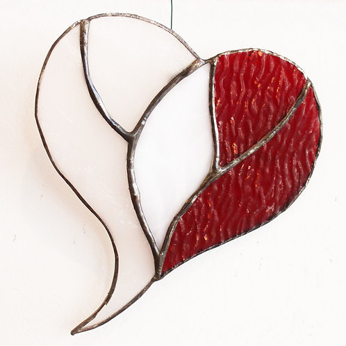 Three Hearts Ornament