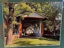 Kingsley Covered Bridge Photo Print