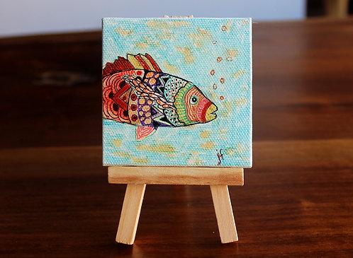 Fish Tiny Canvas
