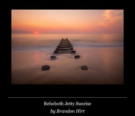 Rehoboth Jetty Sunrise (PRINT)