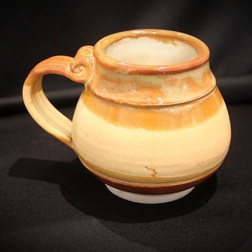 Round Orange Mug