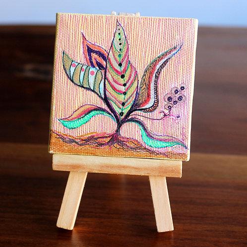 Plant Tiny Canvas