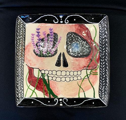 Lilac Skull Plate