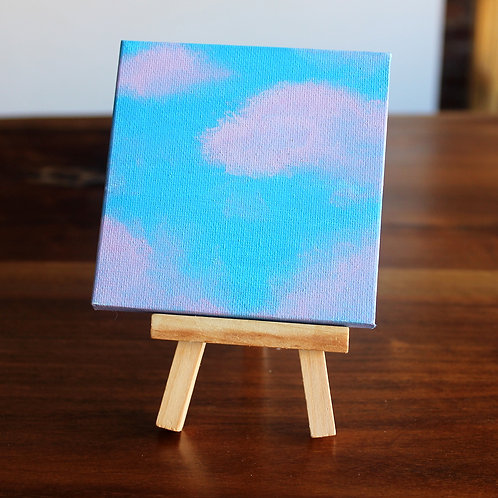 Clouds Tiny Canvas